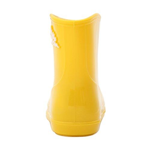 25fbc4333bc93 ... Hellozebra 子供用レインブーツ可愛い長靴キッズレインシューズ雨靴ジュニアスニーカー防水防寒 入園 ...