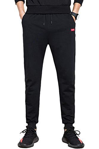 [サン ブローゼ] ストレッチ 素材 ジョガーパンツ 9部丈 カジュアル スポーツ イージー パンツ M ~ XXL メンズ