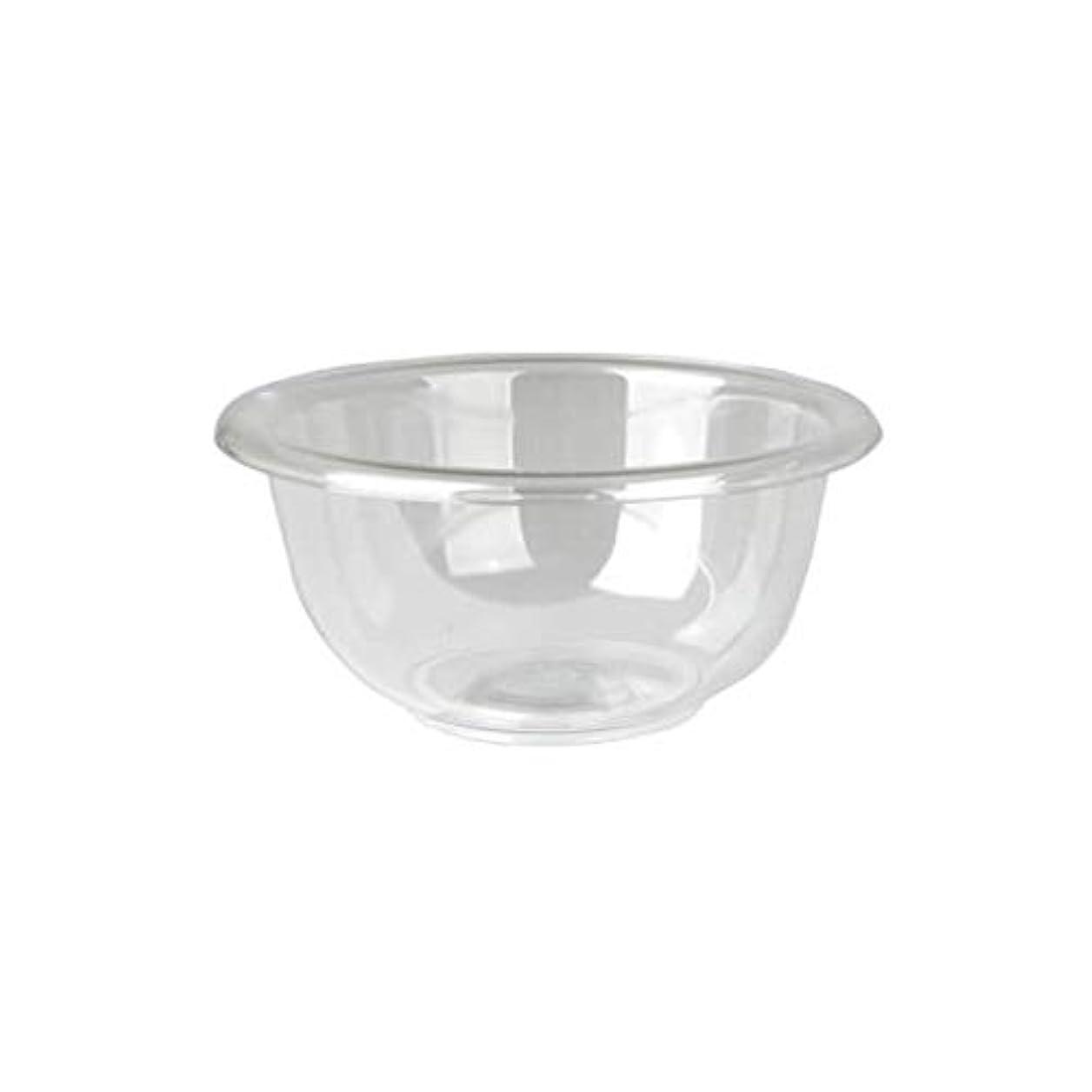 すり減る豊かなサージマイスター プラスティックボウル (Mサイズ) クリア 直径17cm [ プラスチックボール カップボウル カップボール エステ サロン プラスチック ボウル カップ 割れない ]
