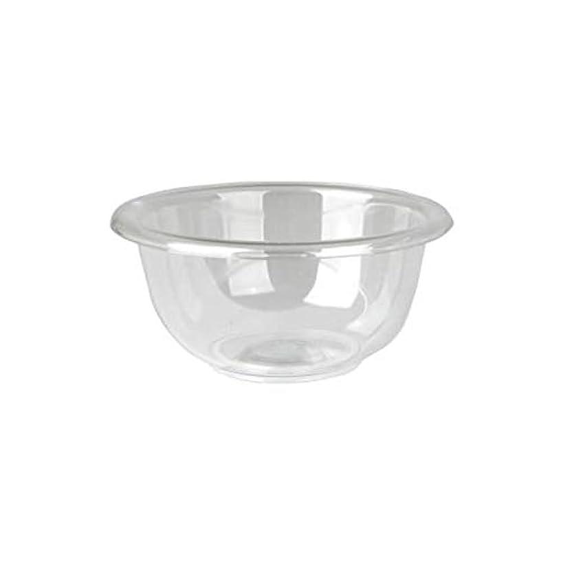 きしむドライバエキゾチックマイスター プラスティックボウル (Mサイズ) クリア 直径17cm [ プラスチックボール カップボウル カップボール エステ サロン プラスチック ボウル カップ 割れない ]