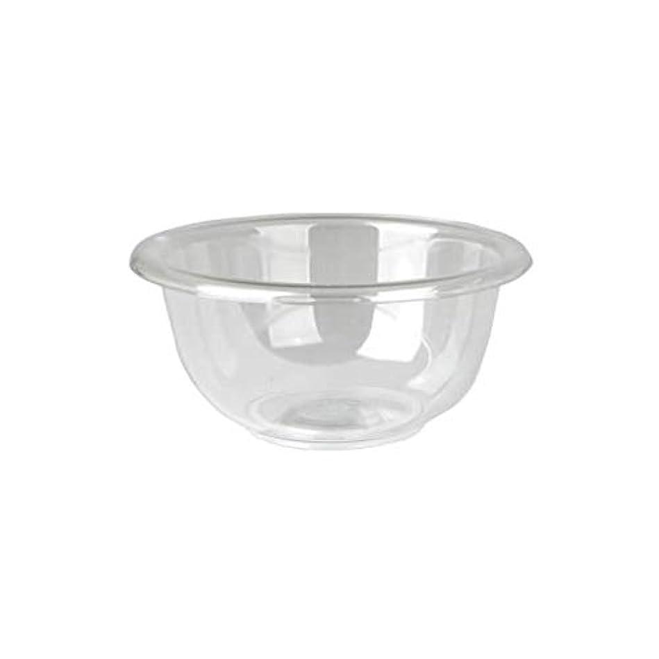 材料評価可能コンベンションマイスター プラスティックボウル (Mサイズ) クリア 直径17cm [ プラスチックボール カップボウル カップボール エステ サロン プラスチック ボウル カップ 割れない ]