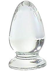 マッサージ師、バレンタインギフトPyrex Glass Massage Wand for Back and All Bodyディープティッシュ筋肉療法