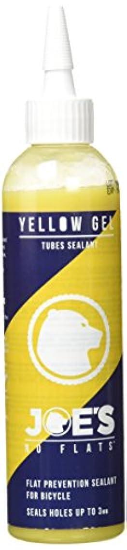 立ち向かう滑り台トラフィックNo flats joe's gel anti crevaison yellow pour chambre à air 240 ml