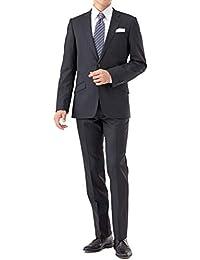 (ノワールシック)NoirChic スリムスーツ 2つボタン パンツウォッシャブル ストレッチ 防シワ 総裏地 細身 スタイリッシュ メンズ スーツ