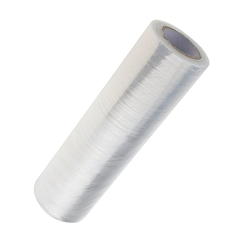 Kesoto 1ロール 美容用ラップ 家庭サロン適用 燃焼汗 エステ ボディラップ 腰/足/腕/髪 体ラップ ヘアケア