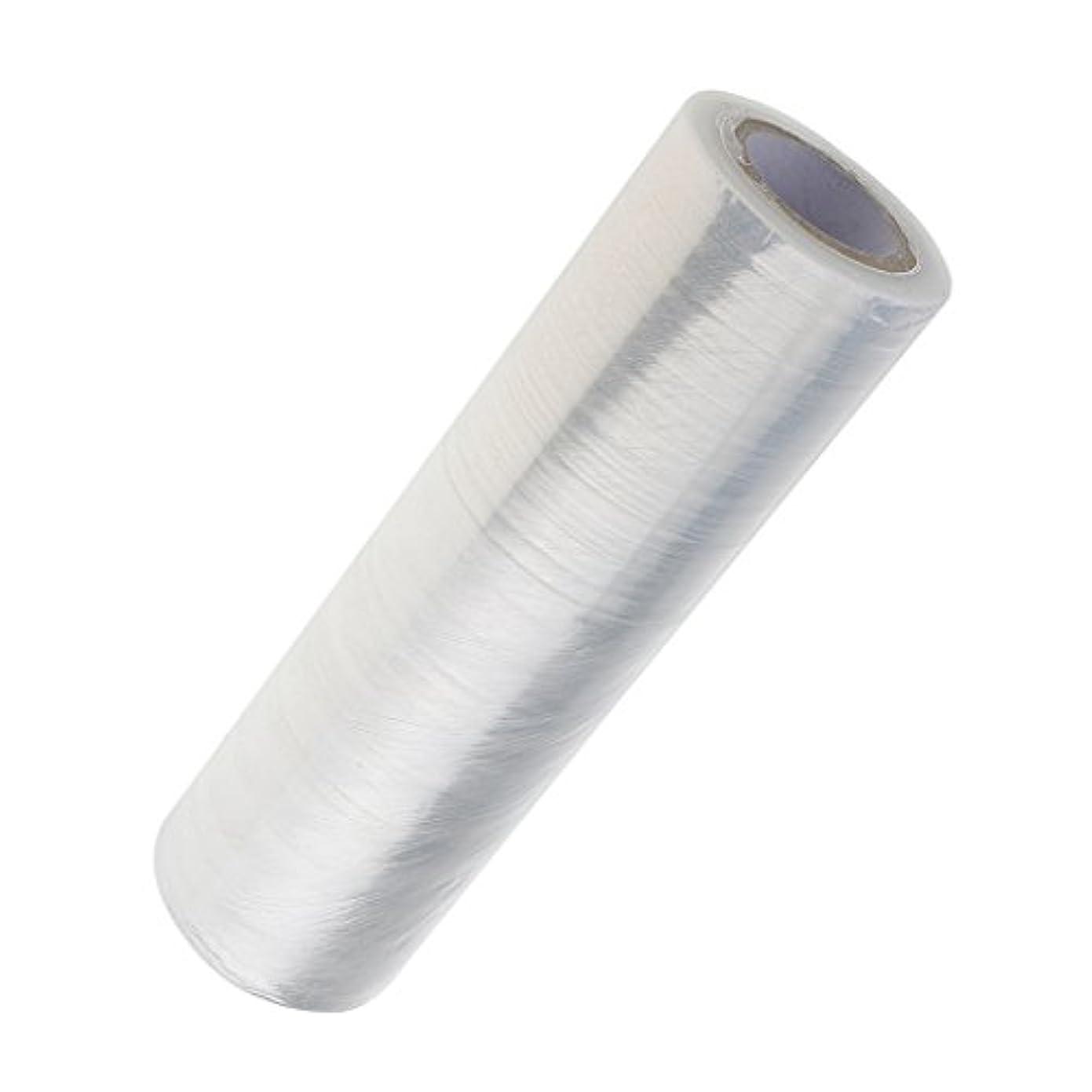 ソーダ水絞る反対に1ロール ボディラップ 美容用ラップ 髪用ラップ プラスチック クリア