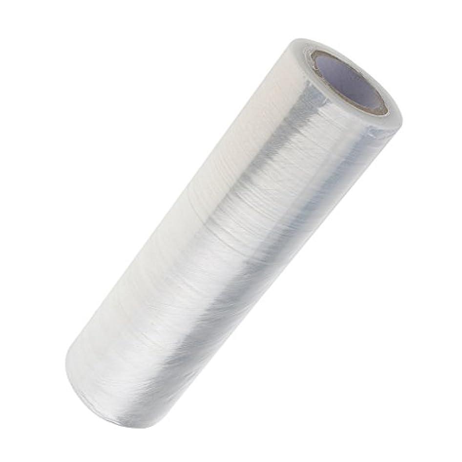 潜むラリーニコチンSharplace 1ロール ボディラップ 美容用ラップ 髪用ラップ プラスチック クリア