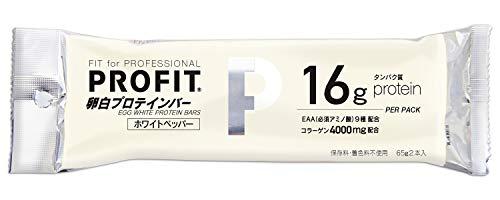 丸善 ささみ PROFIT (プロフィット) 卵白プロテインバー 1箱 (10袋入)×2箱 (ホワイトペッパー)