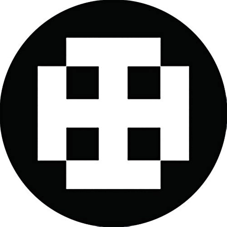 混合創傷カリング家紋シール 裃木紋 布タイプ 直径40mm 6枚セット NS4-3145