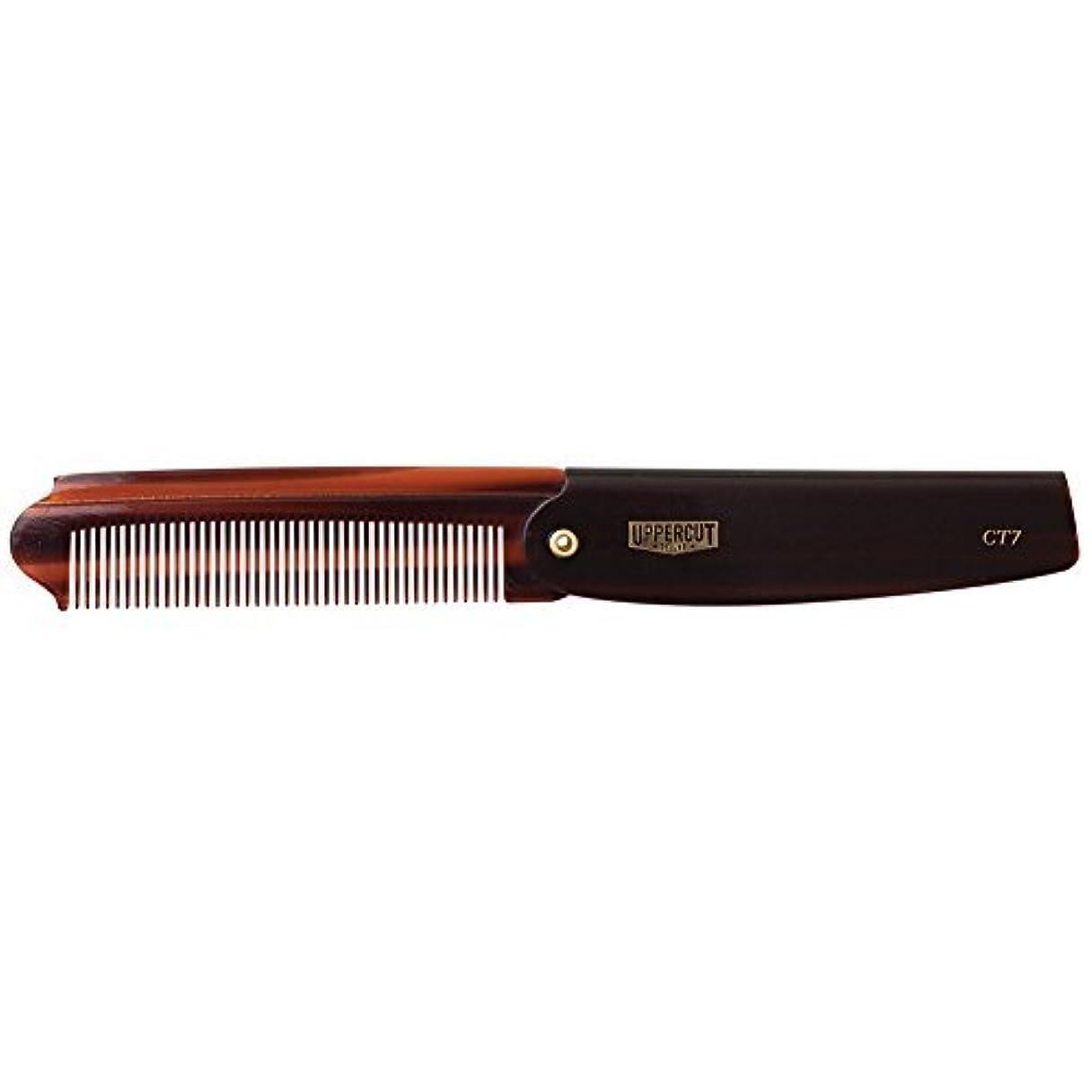 困惑したエコー滑りやすいUppercut Deluxe CT7 Flip Comb - Pocket Sized - Great for Traveling [並行輸入品]