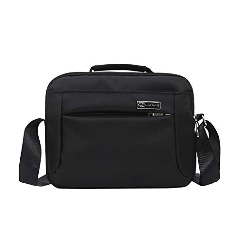 Rencaifeinimo2019新品 軽量多機能 通勤 素晴らしい 贈り物 おしゃれ 旅行バッグメンズファッションカジュアルソリッドカラービジネスショルダーバッグアウトドアメッセンジャーバッグ