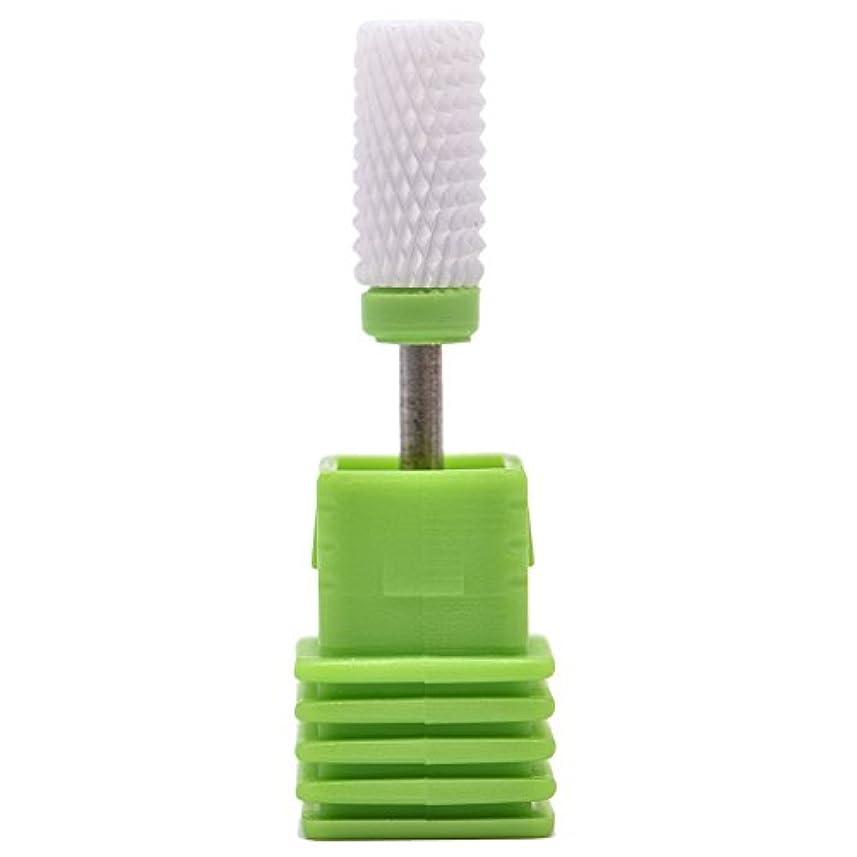 勝つ微生物最高Oral Dentistry ネイルアート ドリルビット 研削ヘッド 研磨ヘッド ネイル グラインド ヘッド 爪 磨き 研磨 研削 セラミック 全3色 (グリーンC(粗研削))