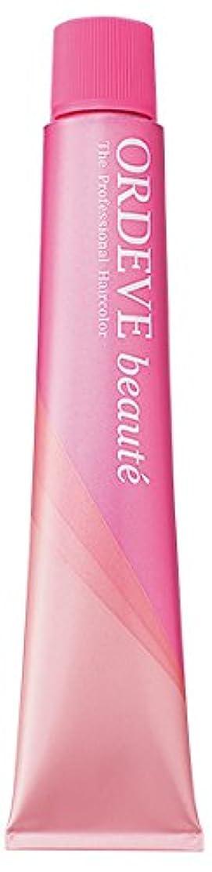 縞模様の組立ドックORDEVE beaute(オルディーブ ボーテ) ヘアカラー 第1剤 b6-CB 80g