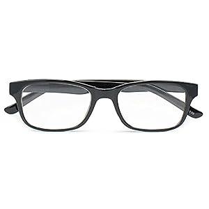 藤田光学 老眼鏡 エントリーライン 樹脂フレーム +2.0度数 ブラック FR-10+2.00