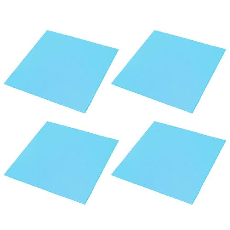 ◎【キッズコーナー キッズブロック 待合室】 キッズブロック フロア 4枚組 ブルー(B340-4-S3)
