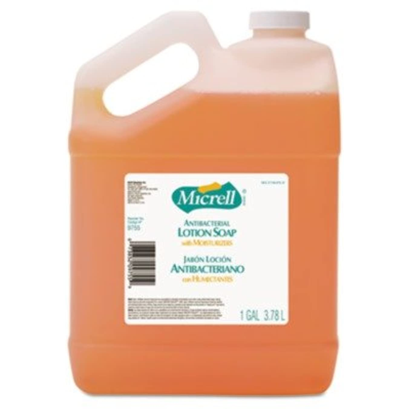染料計算する年go-jo Industries 975504 CT MICRELL抗菌ローションソープ、Pleasant citrus scent , 1 galボトル、4 /カートン