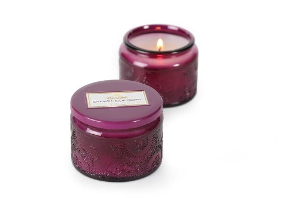 振る舞い辛な成長Voluspa ボルスパ ジャポニカ グラスジャーキャンドル S サンティアゴハックルベリー JAPONICA Glass jar candle SANTIAGO HUCKLEBERRY