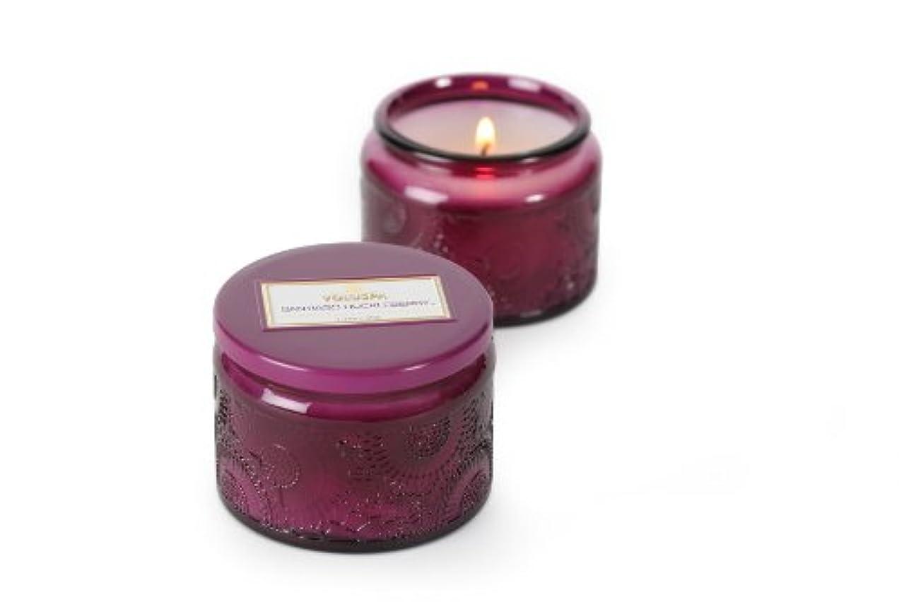ナンセンス静脈ロンドンVoluspa ボルスパ ジャポニカ グラスジャーキャンドル S サンティアゴハックルベリー JAPONICA Glass jar candle SANTIAGO HUCKLEBERRY