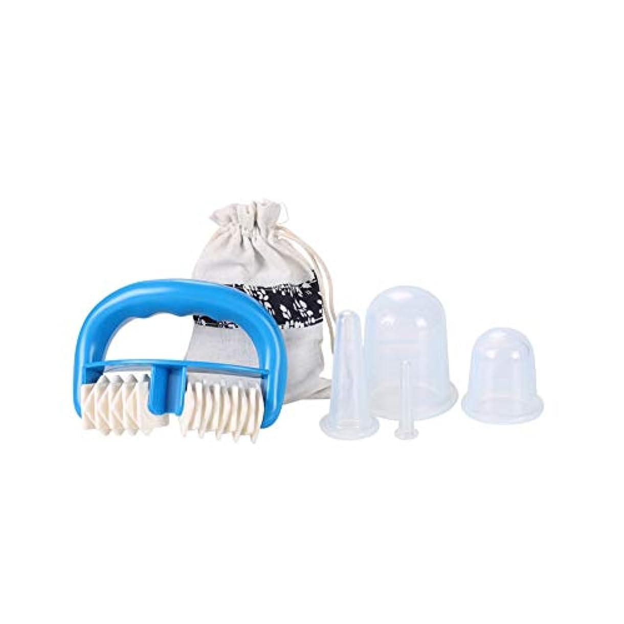 最大限ピクニック貨物真空マッサージローラーマッサージカップパッケージキット透明な筋弛緩の6セットをシリカゲルフェイシャルマッサージ装置をカッピング