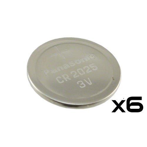 6 Pack -- Panasonic Cr2025 3v ...