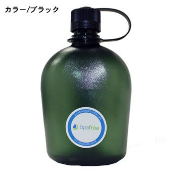 nalgene(ナルゲン) 1リットル キャンティーン ボトル オアシスBPA (ブラック)