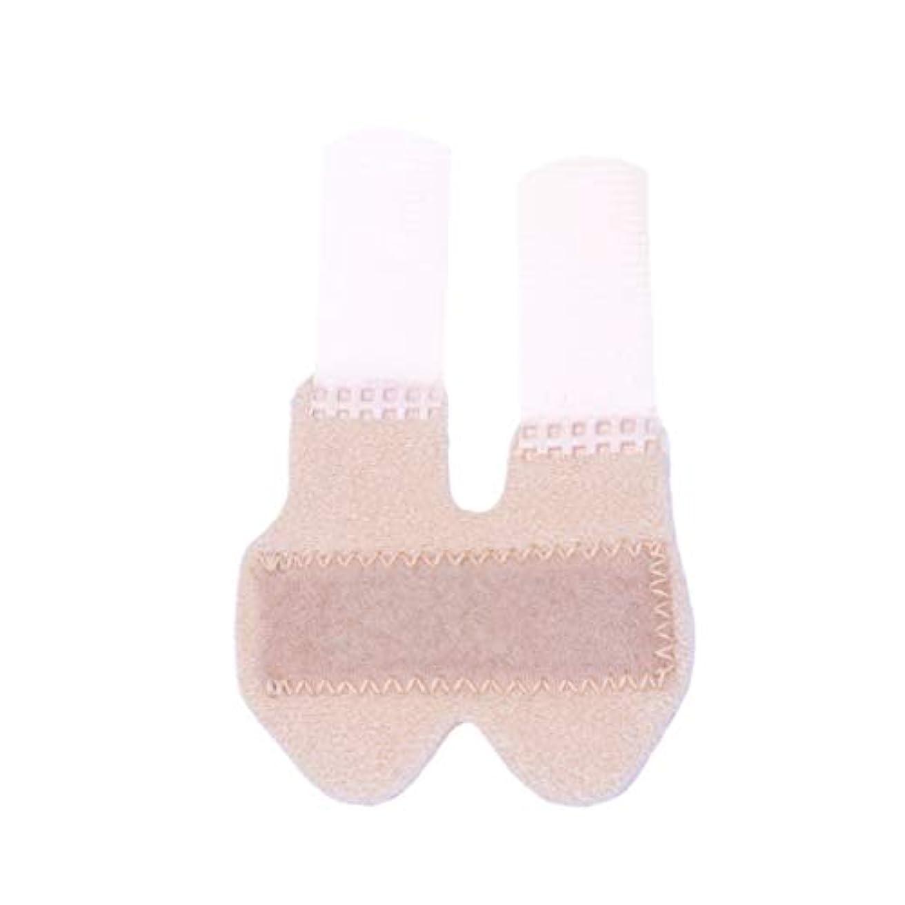 Healifty 指の添え木指固定装具保護カバー負傷した指の骨折サポート(サイズl四季デザイン)