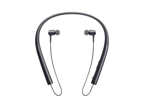 ソニー SONY ワイヤレスイヤホン h.ear in Wireless MDR-EX750BT : ハイレゾ/Bluetooth対応 リモコン・マイク付き チャコールブラック MDR-EX750BT B