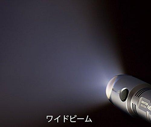 『GENTOS(ジェントス) 懐中電灯 ネクセラ 【明るさ230ルーメン 実用点灯4時間】 NEX-973R』の3枚目の画像