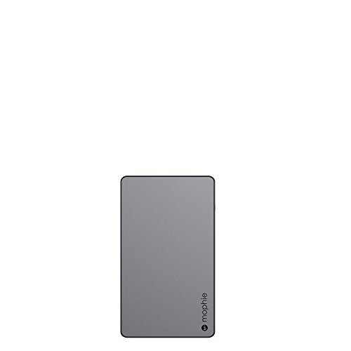 mophie powerstation External Battery for Universal Smartphones and Tablets (6000mAh) - Space Grey [並行輸入品]