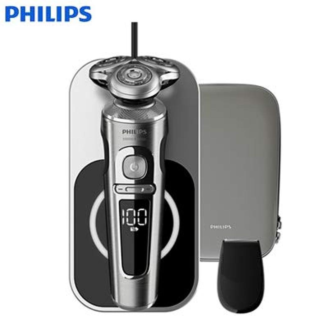 主婦摂氏度前提条件フィリップス ウェット&ドライ電気シェーバー 「S9000プレステージ」 SP9861/13