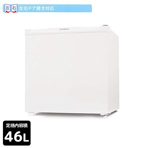 46L 1ドア冷蔵庫 直冷式 ホワイトS-cubism R-46WH