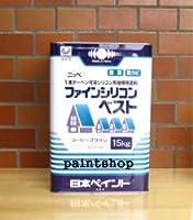 日本ペイント ファインシリコンベスト 15kg 屋根用塗料 赤さび