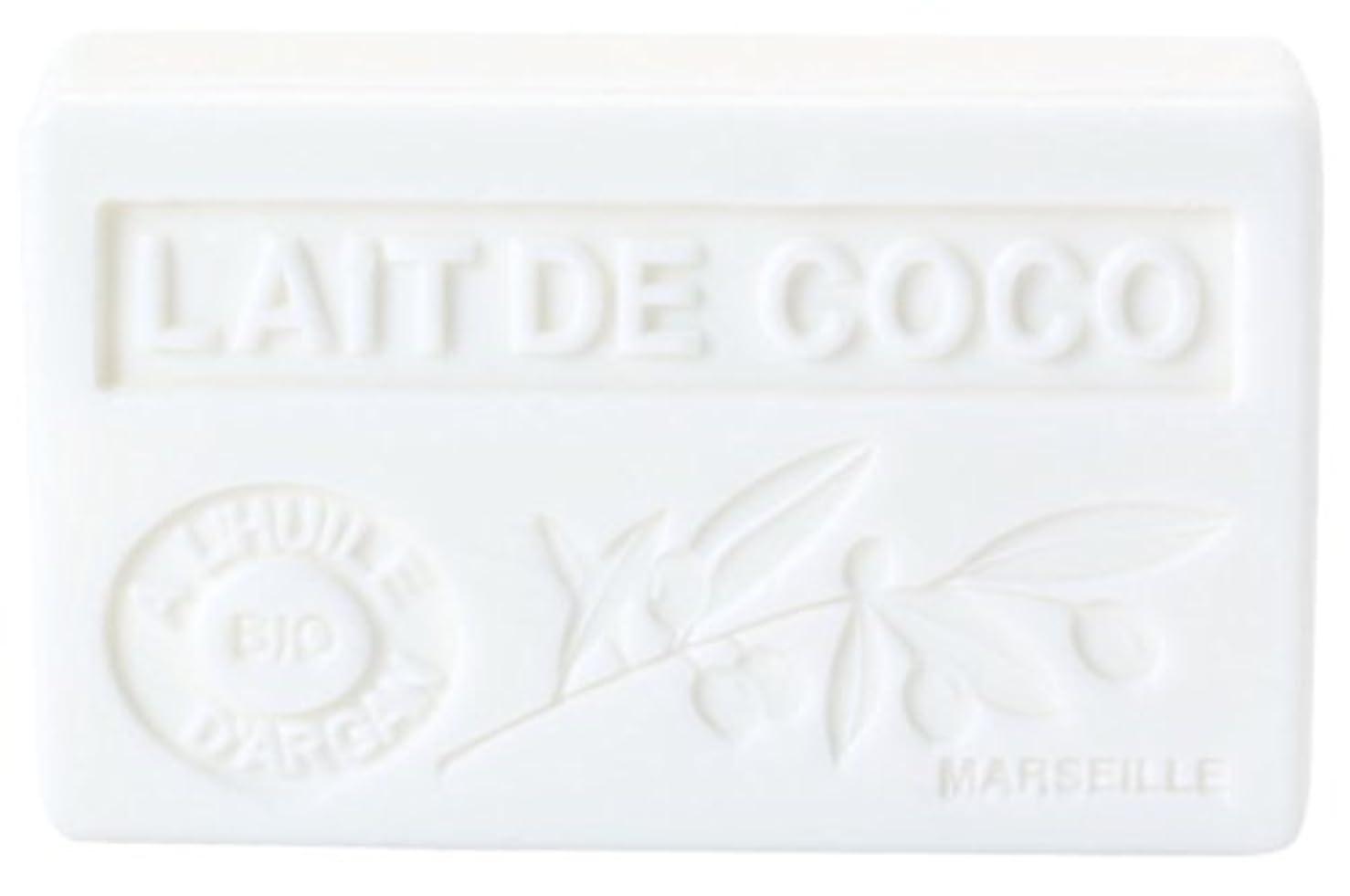 一貫した化学薬品最少ノルコーポレーション アルガン石鹸 ラ?メゾン?ド?マルセイユ プロヴァンス OB-PVP-1-5 ココナッツの香り 90g