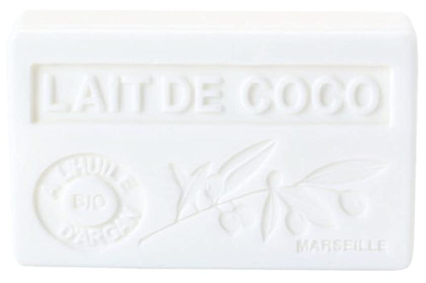 厚いローズスポンジノルコーポレーション アルガン石鹸 ラ?メゾン?ド?マルセイユ プロヴァンス OB-PVP-1-5 ココナッツの香り 90g