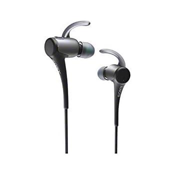 SONY カナル型ワイヤレスイヤホン スポーツ向け 防滴仕様 Bluetooth対応 ブラック MDR-AS800BT/B