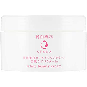 (医薬部外品) 薬用 純白専科 すっぴん純白クリーム オールインワン 100g