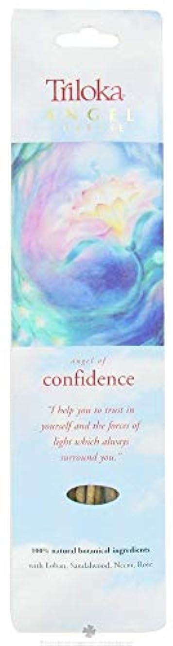 ミットアクロバット石のTriloka – Angel Incense Angel of Confidence – 10スティック( S )