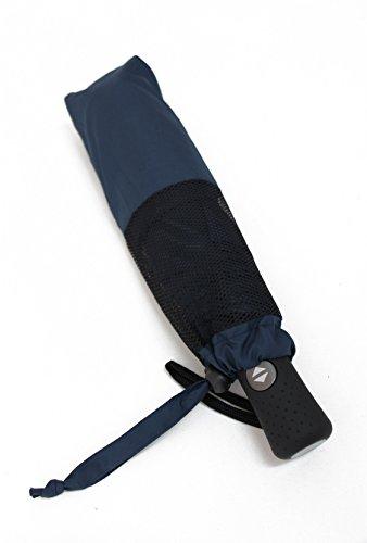 PARACHASE 折り畳み傘 自動開閉 メンズ 傘 大きい 風が抜ける 強風対応 耐風 グラスファイバー おしゃれ 8本骨 直径118cm(K3-ネイビー)