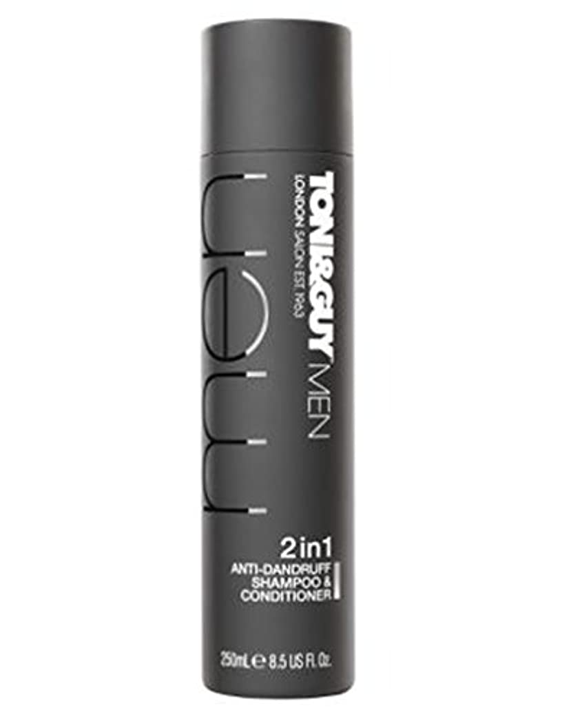 バリア前部産地Toni&Guy Men Anti-dandruff shampoo & conditioner 250ml - トニ&男男性のフケ防止シャンプー&コンディショナー250ミリリットル (Toni & Guy) [並行輸入品]