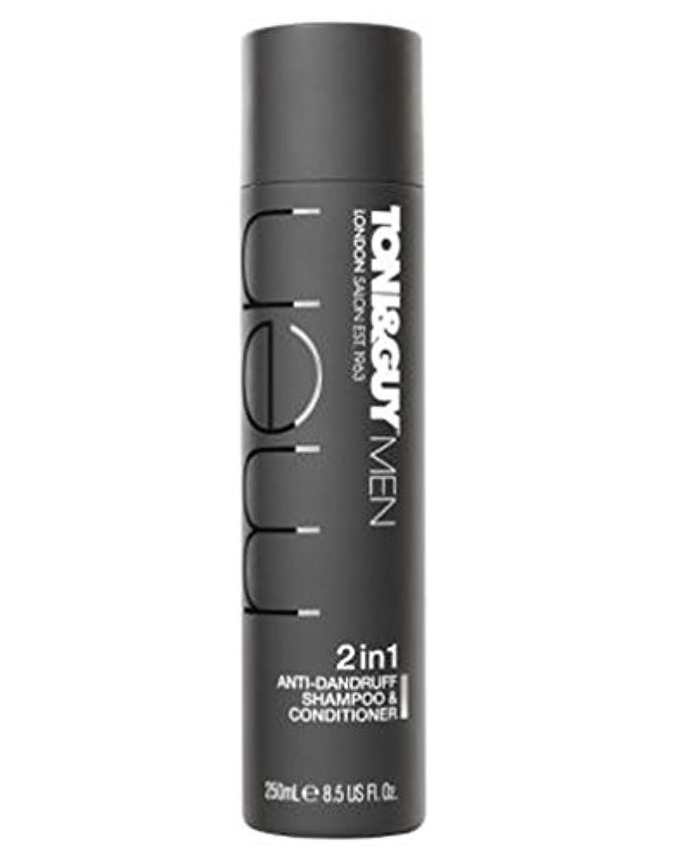 Toni&Guy Men Anti-dandruff shampoo & conditioner 250ml - トニ&男男性のフケ防止シャンプー&コンディショナー250ミリリットル (Toni & Guy) [並行輸入品]