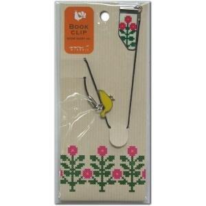 ブッククリップ チャーム黄色い鳥 43139-006