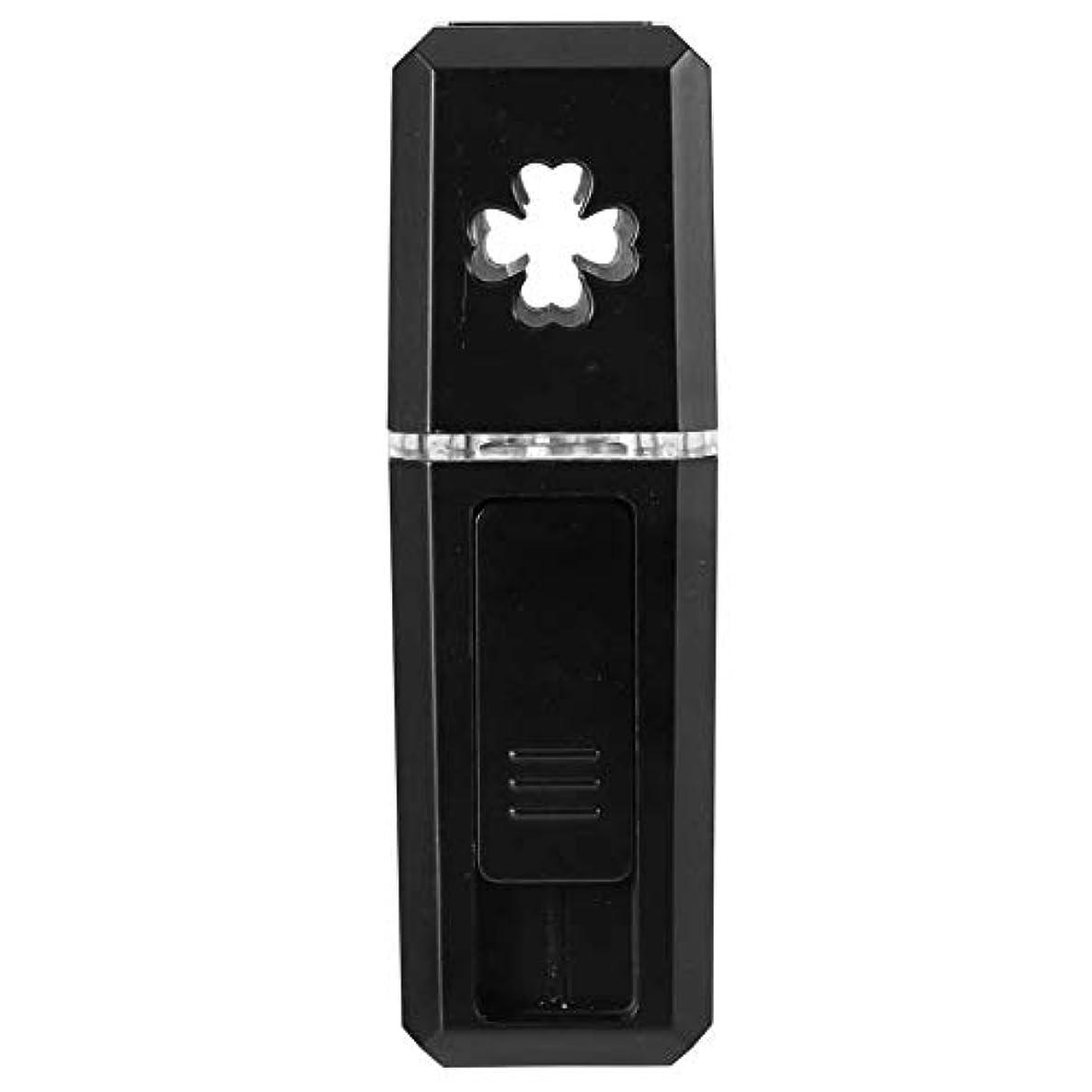 気分が悪い道路を作るプロセス苦い20ml口紅サイズミスト噴霧器、USB充電で保湿する便利なナノ噴霧機(02)