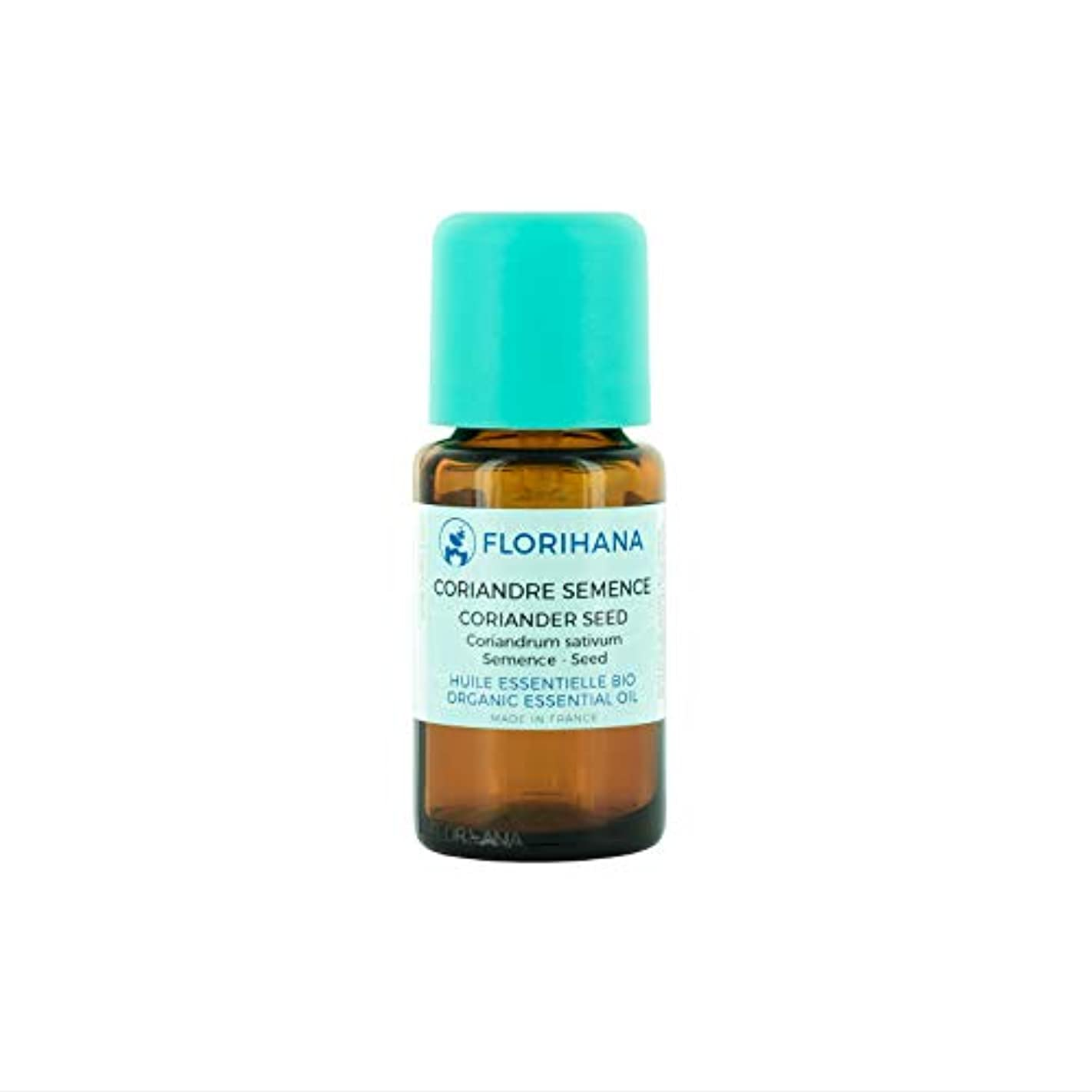 簡単に視力肌オーガニック エッセンシャルオイル コリアンダーシード 5g(5.7ml)
