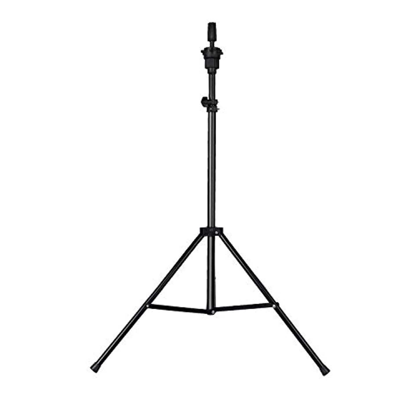 トライアスロン強います密Training head stand model holder adjustable wig tripod hairdressing hair【Does not include the head】
