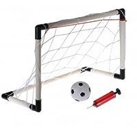 61 x 40 cmポータブルMini Football Goal Netセット子供用ガジェット