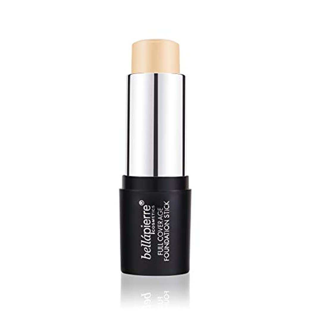 マッサージ分配します期待するBellapierre Cosmetics Full Coverage Foundation Stick - # Light 10g/0.35oz並行輸入品