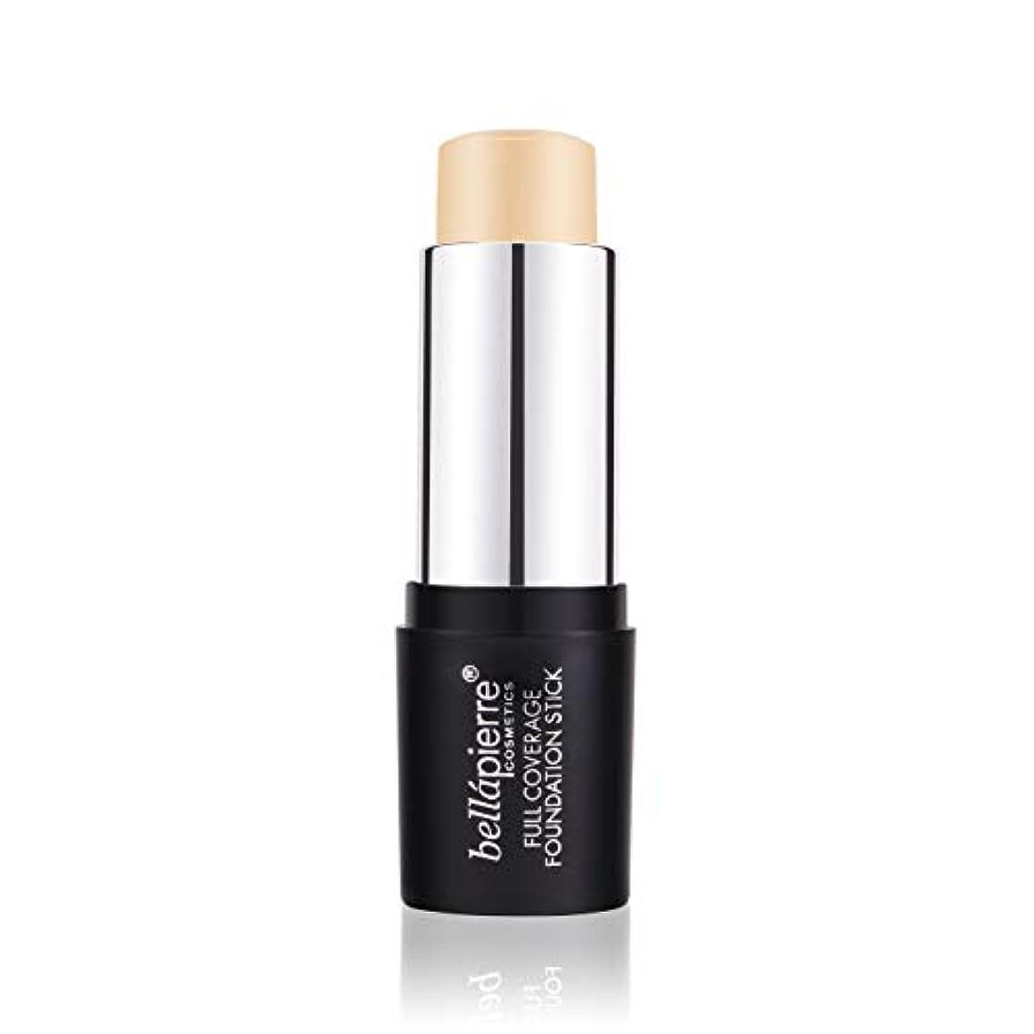 悩み評決掘るBellapierre Cosmetics Full Coverage Foundation Stick - # Light 10g/0.35oz並行輸入品