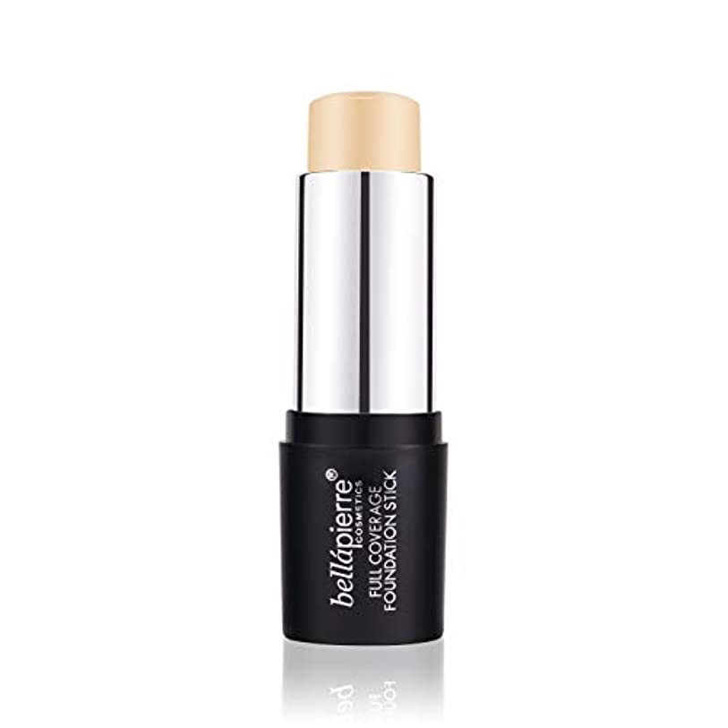 予防接種するシリンダー年次Bellapierre Cosmetics Full Coverage Foundation Stick - # Light 10g/0.35oz並行輸入品