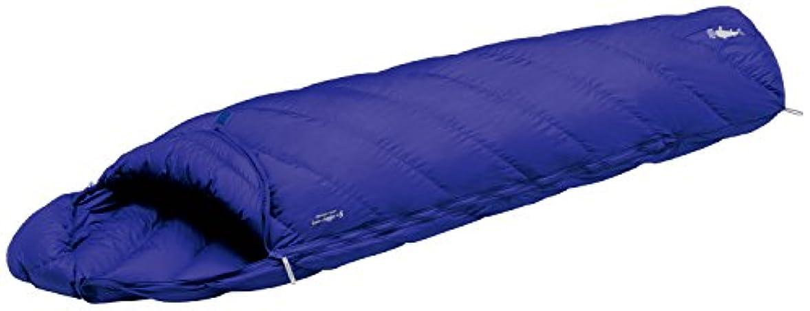 熱心なおじいちゃん読むモンベル(mont-bell) 寝袋 アルパイン ダウンハガー800 #5 [最低使用温度5度] ブルーリッジ 1121303-BLRI