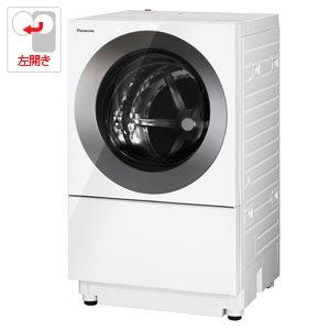 パナソニック 10.0kg ドラム式洗濯機【左開き】 アイアンシルバーPanasonic Cuble(キューブル) NA-VS1100L-S